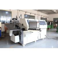 Buy cheap 10 Axes Convenient Operation Spring Bending Machine with Platform from wholesalers