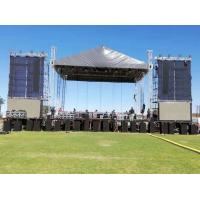 Quality 2020 High Quanlity 12*10*10m  6 Pillars  Colorful Outdoor Heavy Duty Stage Roofing Truss For Public  Events for sale