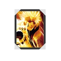 Quality Naruto Anime Design 3D Picture Frame Lenticular Pictures For Home Decoration for sale
