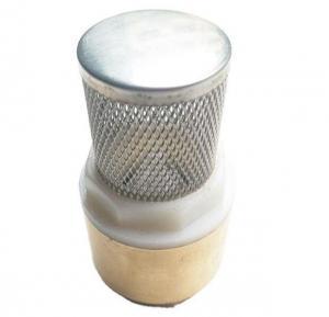 Quality Bellows Globe Tubular Vertical Brass Spring Check Valve for sale