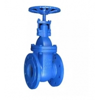 Quality DIN3352 F4 Rising Stem Ductile Iron Gate Valve Manual Actuator for sale