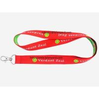 China China Custom Neck Woven Jacquard Lanyard, Jacquard Logo Lanyard on sale