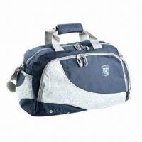 Buy Sports bag, made of 420/PVC jacquard polyester at wholesale prices