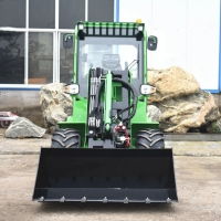 Quality 915 Hydrostatic Tractor Telescopic Boom Front Loader Machine for sale