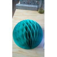 Buy cheap Super Large paper honeycomb party decoration products Many colors and size in stock from wholesalers