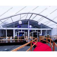 Quality Ceremony / Celebration Party Arch Curved Tent Luxury Aluminum Alloy With Eave for sale