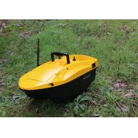 Quality Yellow shuttle bait boat , DEVICT bait boat remote control style radio control for sale
