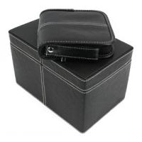 China cd storage corrugated box with labels on sale