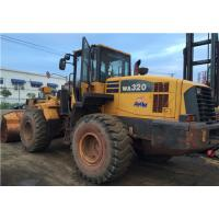 China Used Komatsu wheel loader WA320-5 Made in Japan Original colour No mechanical problem on sale