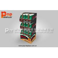 China Sturdy Longlasting Cardboard Pallet Display , Cleanser Supermarket Pop Pallet Display on sale