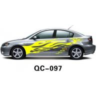 Best Car Body Sticker QC-097E / PVC Water Proof Car Body Sticker wholesale