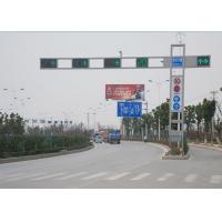 China 6M Outdoor Automatic Traffic Light Signals , Road Traffic Signals And Signs on sale