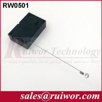 Quality Market Purchase Retractable Retail Security Cable With Ring Terminal 7.1x4.5x2.1 Cm for sale