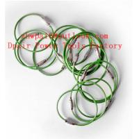 Quality Stainless Steel Cable Luggage Tag Stainless Steel WIre Loops for sale