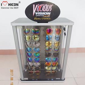 China Countertop Eyeglasses Retail Acrylic Display Case Custom Logo For Sunglasses on sale