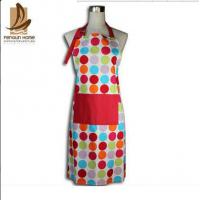 China Custom Colored Home Cooking Cotton Kitchen Apron 70 x 80cm 250gsm on sale