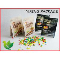 Quality Quad Seal Flat Bottom Pouch Side Gusseted Bag with Zipper For Food packaging for sale