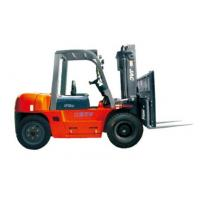 Quality Durable Warehouse Lifting Equipment 5 Ton Diesel Forklift With Side Sliding Fork for sale