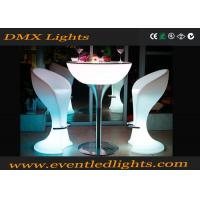 China Rechargeable lighted bar tables waterproof LED Chair Remote control on sale