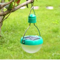 China Plastic Solar Outdoor Camping Lamp on sale