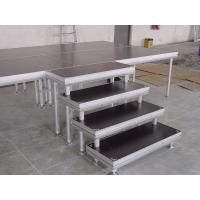Quality Aluminum Outdoor  Movable Stage Platform , Portable DJ Stage Outdoor Adjustable Height Stage for sale