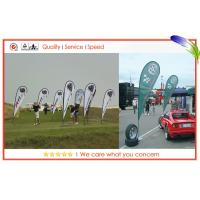 Best Teardrop Shape Promotion Flag Flying Banners With Dye-Sublimation Printing wholesale