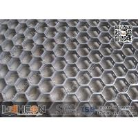 China SS304 14 Gauge 50mm hexagonal mesh H type Hex Metal Grating | USA Hex Metal for Refractory furnace lining on sale