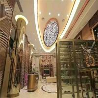 China home furniture stainless steel metal screen partition wall for interior decorative on sale