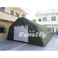 China OEM 0.9MM PVC Tarpaulin Inflatable Military Tent ,Inflatable Airbeam Tent on sale