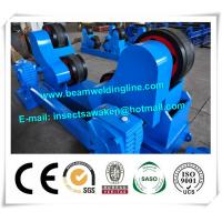 Quality Blue Conventional Welding Rotator , Self Aligned Welding Turning Rolls for sale