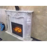Quality White marble fireplace mantel for sale