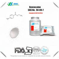 China Pharmaceutical Chemicals Benzocaine  for  Topical Anesthetic Pain Killer  CAS 94-09-7 on sale