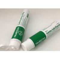 Quality Flexo Printing Laminated Tube Packaging For Jelly With Flip Top Cap for sale