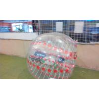 China 1.2m Clear Pink  Inflatable Sports Games Soccer Ball For Advertising on sale