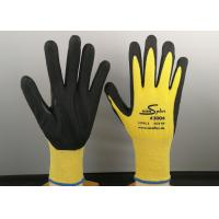 Quality HPPE Knitted Industrial Safety Gloves 13 Gauge With Thumb Tiger Reinforcement for sale
