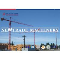 Quality Yellow Slewing Building Tower Crane TC5013 With Max Load 6 Tons And Boom 50m for sale