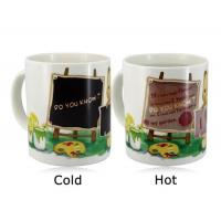 Best Promotional Items Color Change Magic Coffee Cup Color Changing Magic Mug wholesale