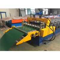 Quality Electric Control Garage Door Roll Former , Rolling Shutter Roll Forming Machine for sale