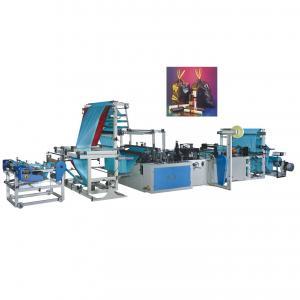 China Full automatic Rope garbage bag making machine on sale