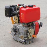 Quality Single cylinder air cooled 4 stroke 170f marine diesel engine with gear boxes for sale