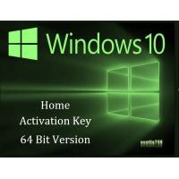 Quality 32 Bit / 64 Bit Windows 10 Home Key Code USB Activation With Lifetime Guarantee for sale