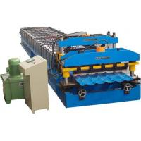 Quality Hydraulic Power Automatic Metal Roofing Sheet Glazed Tile Making Machine 5 Ton Manual Decoiler for sale