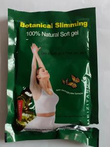 Quality Blue Version Botanical Soft Gel Slimming Capsule / Botanical Weight Loss Pills for sale