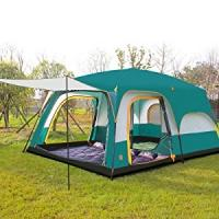 China 8 to 12 person Tent Triple Camping Tent Three Rooms Family Camping Tents Well-ventilated Waterproof (HT6100) on sale