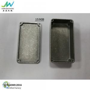 Quality Unpainted Aluminium1590B Diecast  Enclosure  - Stompbox for Guitar Pedals for sale