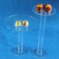 Best Acrylic cake stands, can put flowers and lights into tubes wholesale