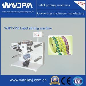 China Automatic Label Slitting Machine (WJFT-350) on sale