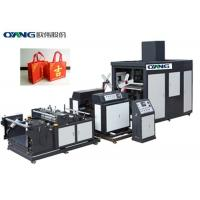 China No Need Reverse Non Woven Box Bag Making Machine Machinery For 3D Bag on sale