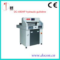 China DC-480HP Hydraulic guillotine on sale