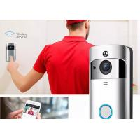 Quality 720P HD Wireless Video Doorbell System 166° Wide Angle Lens With Indoor Chime for sale